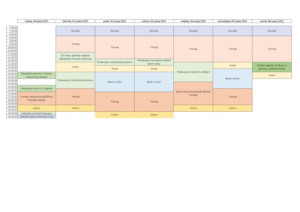 Balta team Program CroVolley kamp 2021